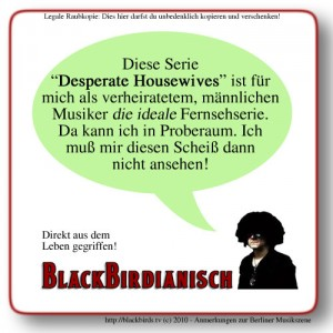 Blackbirdianisch 01.2010 - Desperate Housewives