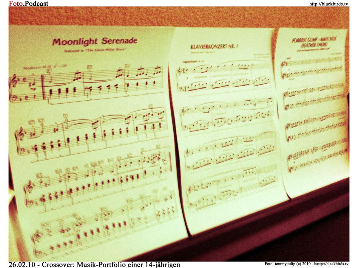 Crossover: Musik-Portfolio einer 14-jährigen