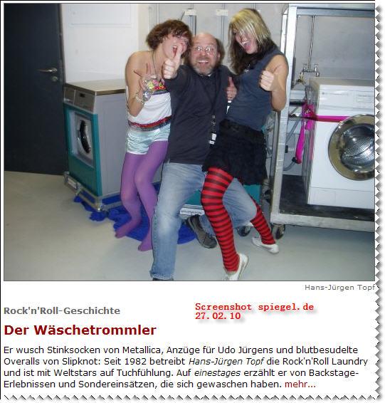 """Screenshot """"Der Wäschetrommler"""" (Quelle: einesTAGES, Spiegel)"""