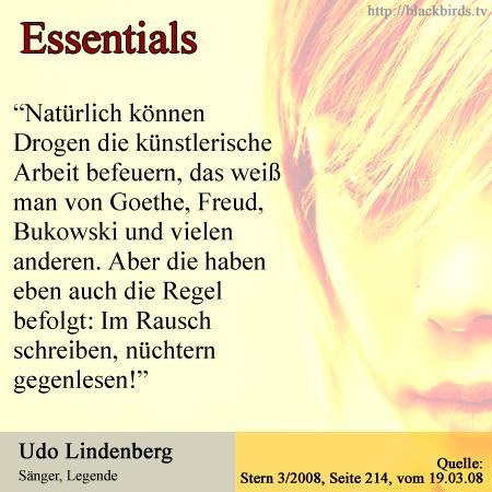 Essentials: Udo Lindenberg - Drogen