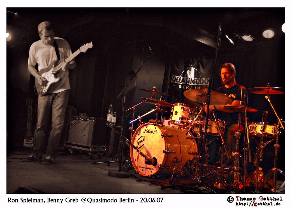 Ron Spielman, Benny Greb - Quasimodo (2007)