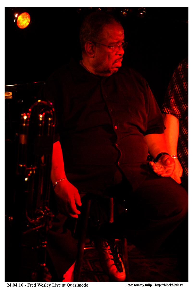 Fred Wesley, Mr. Funk - Live Quasimodo Berlin - 24.04.10