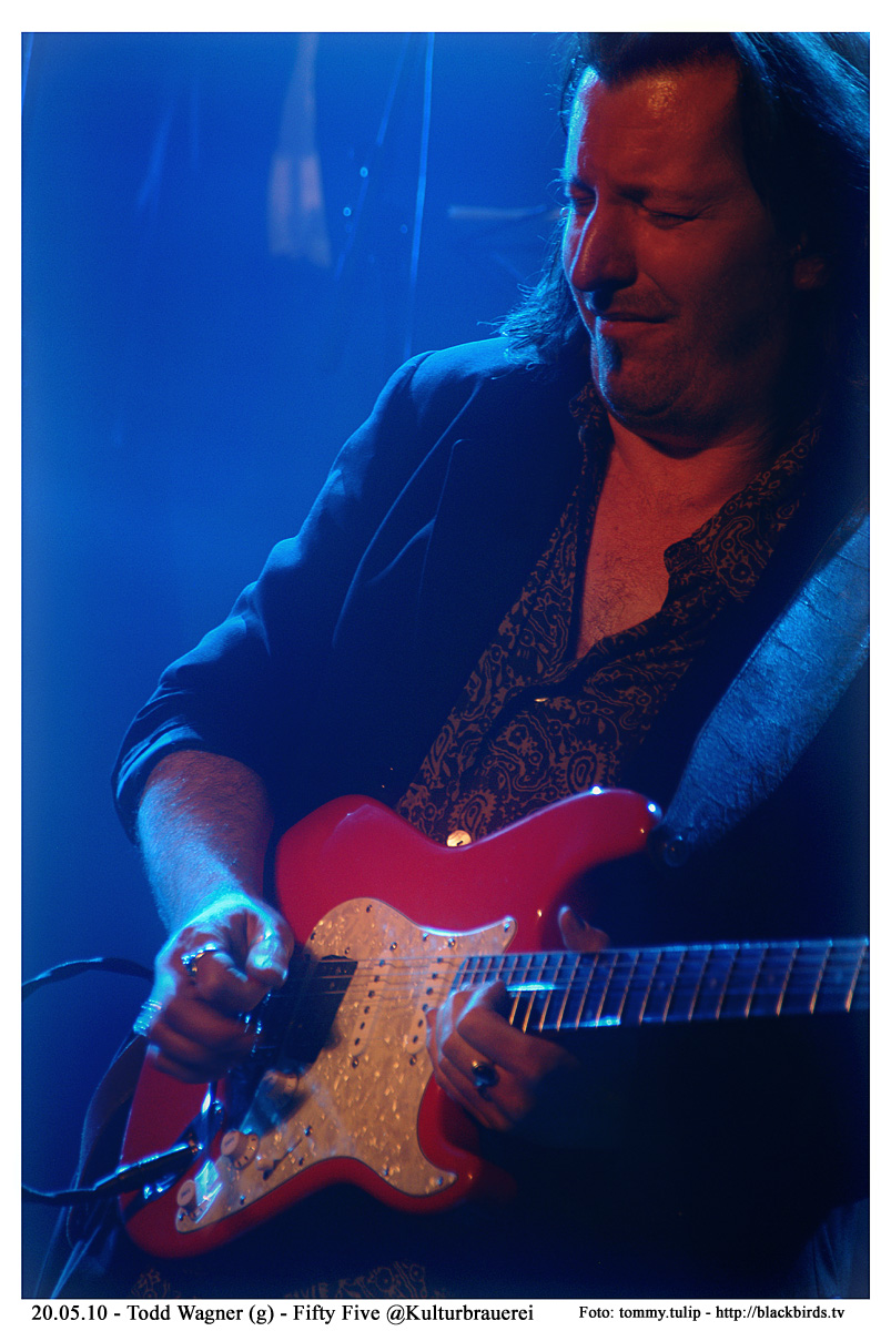 Todd Wagner - Live 20.5.10 - Fifty Five (Kulturbrauerei)