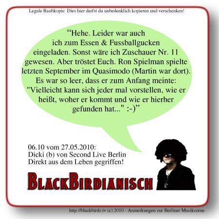 Blackbirdianisches Wissen 06.10 - Zuschauerzahlen