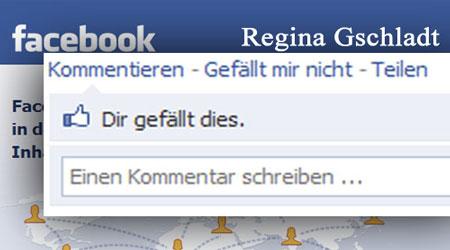 facebook-Mashup-Derivat Regina Gschladt
