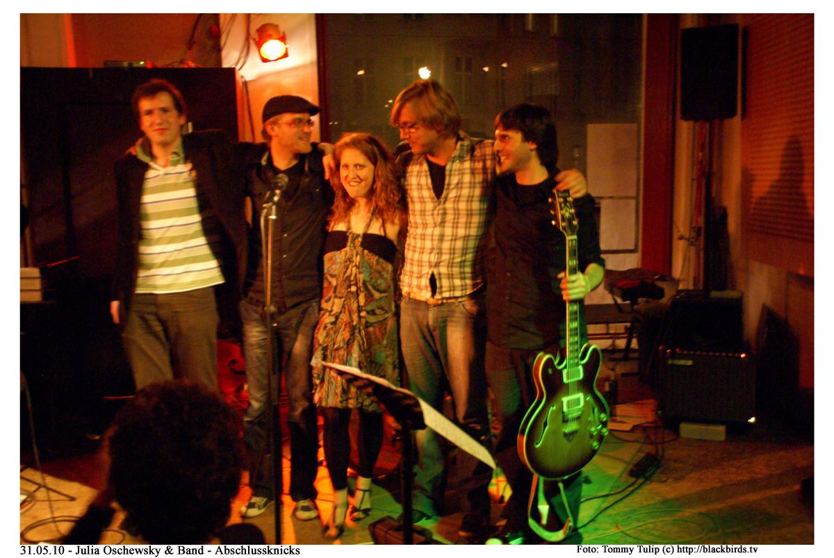31.05.10 - Julia Oschewsky & Band - Abschlussknicks
