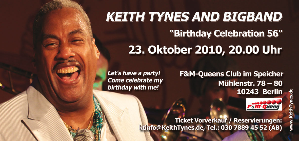 Keith Tynes & Bigband - 23.10.2010