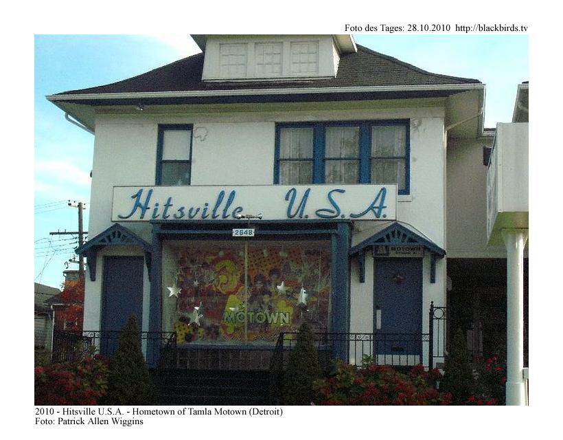 Hitsville U.S.A. - Detroit - (© Patrick Allen Wiggins)
