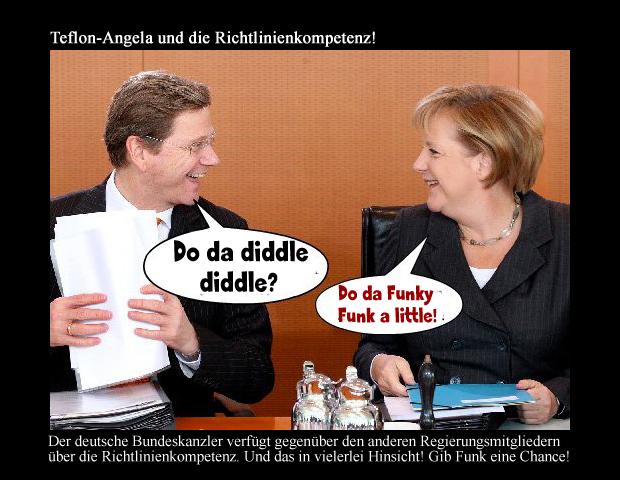 Teflon-Angela und die Richtlinienkompetenz!