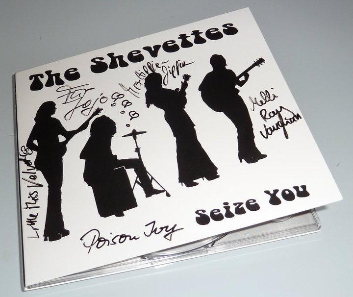 "The Shevettes-Kostbarkeit ""Seize You"" mit Autogrammen"