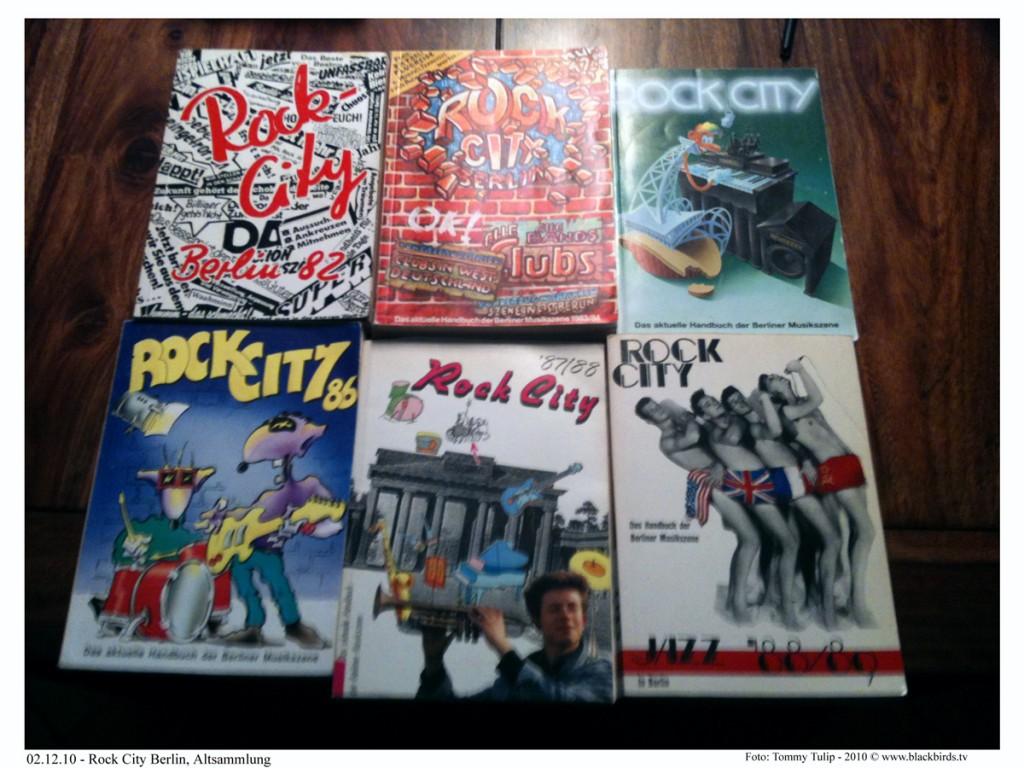 Rock City Berlin - sechs Jahrgänge!