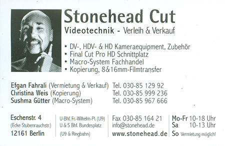Stonehead Cut (vCard)