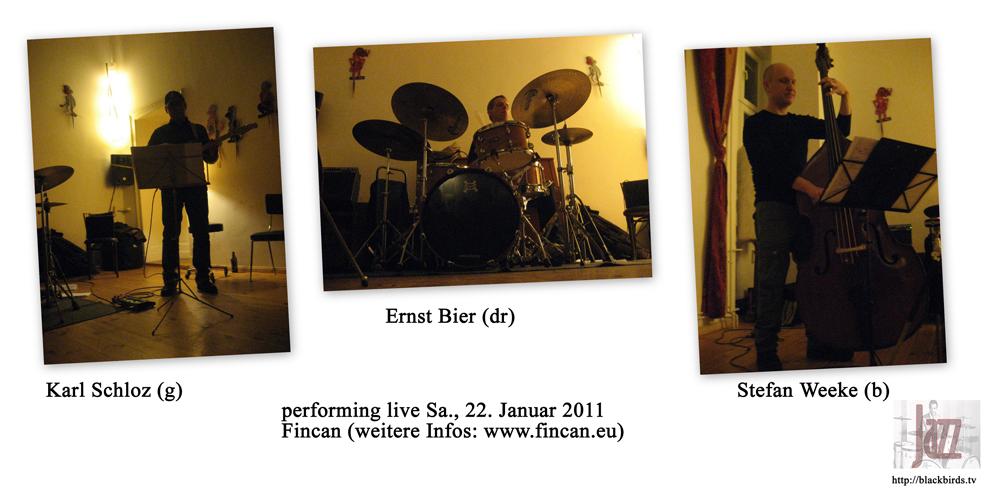 Ernst Bier, Karl Schloz & Stefan Weeke im Fincan!