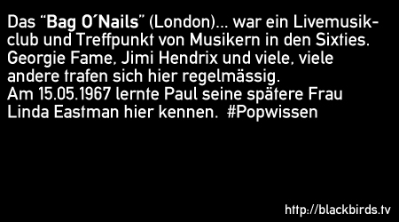Popwissen 01.11 - Paul & Linda McCartney