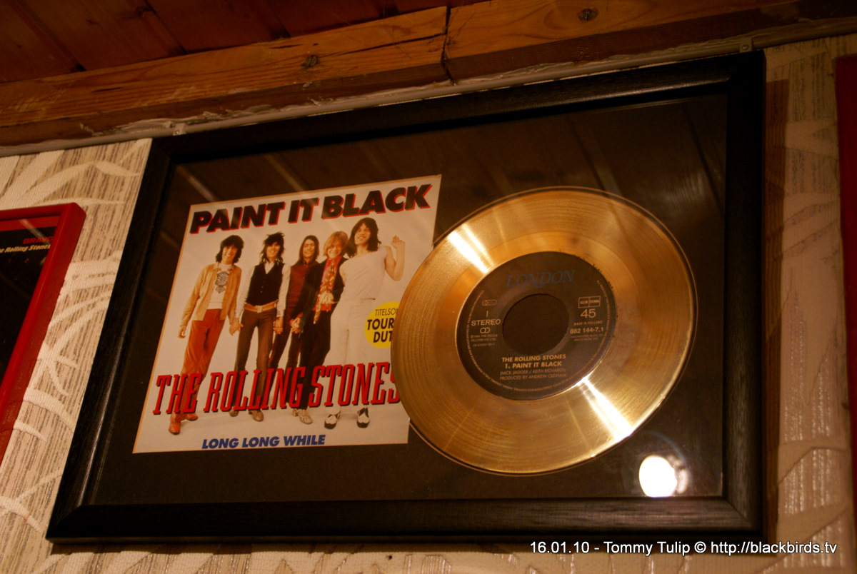 Goldene Schallplatte: PAINT IT BLACK - Rolling Stones