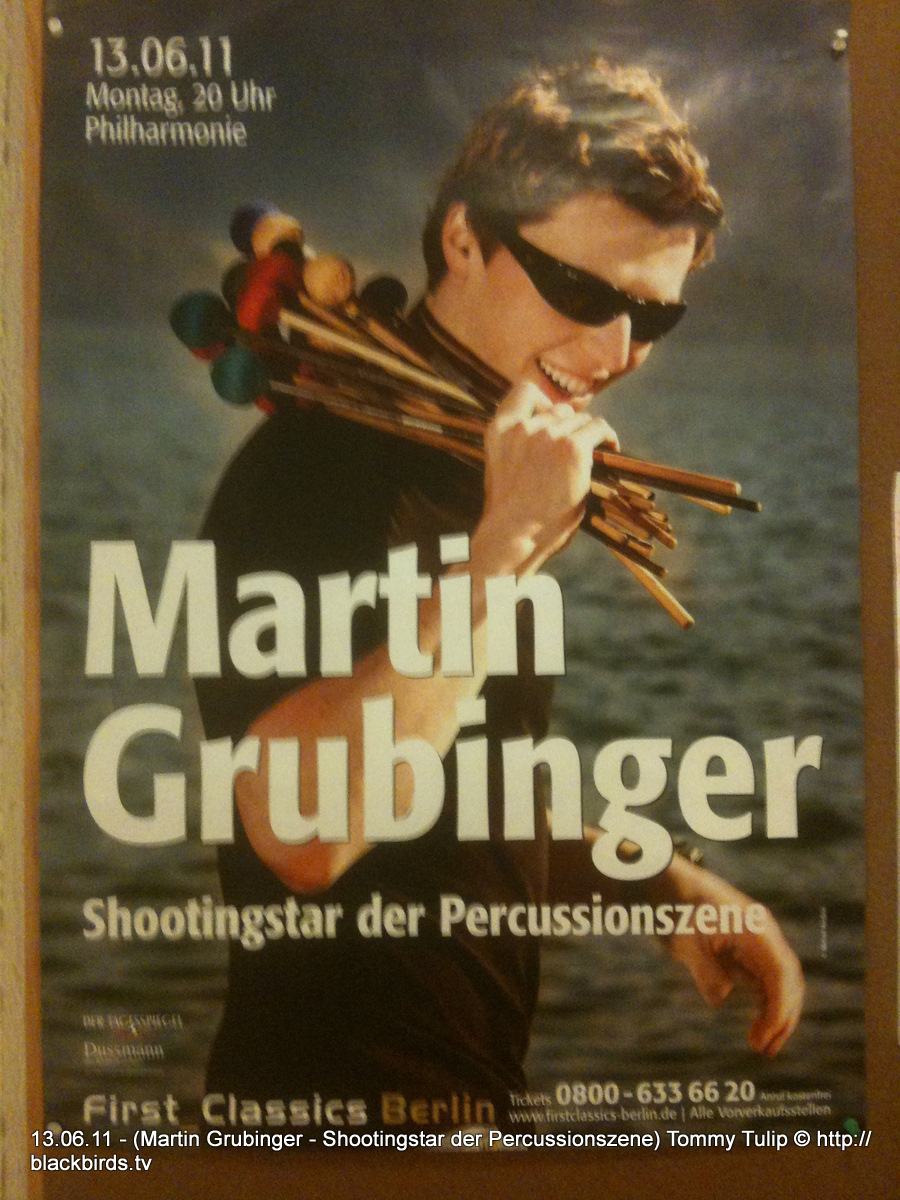 Martin Grubinger - Shootingstar der Percussionszene