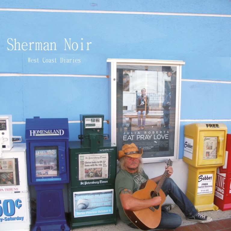 "CD ""West Coast Diaries"" - Sherman Noir (Abbildung)"