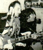 John Lennon und Jacky Spelter