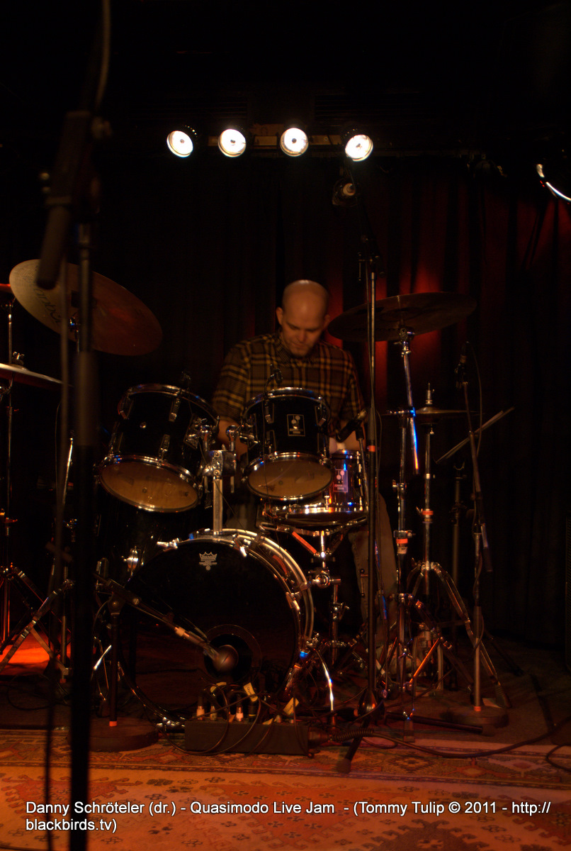 Danny Schröteler (dr.) - Quasimodo Live Jam