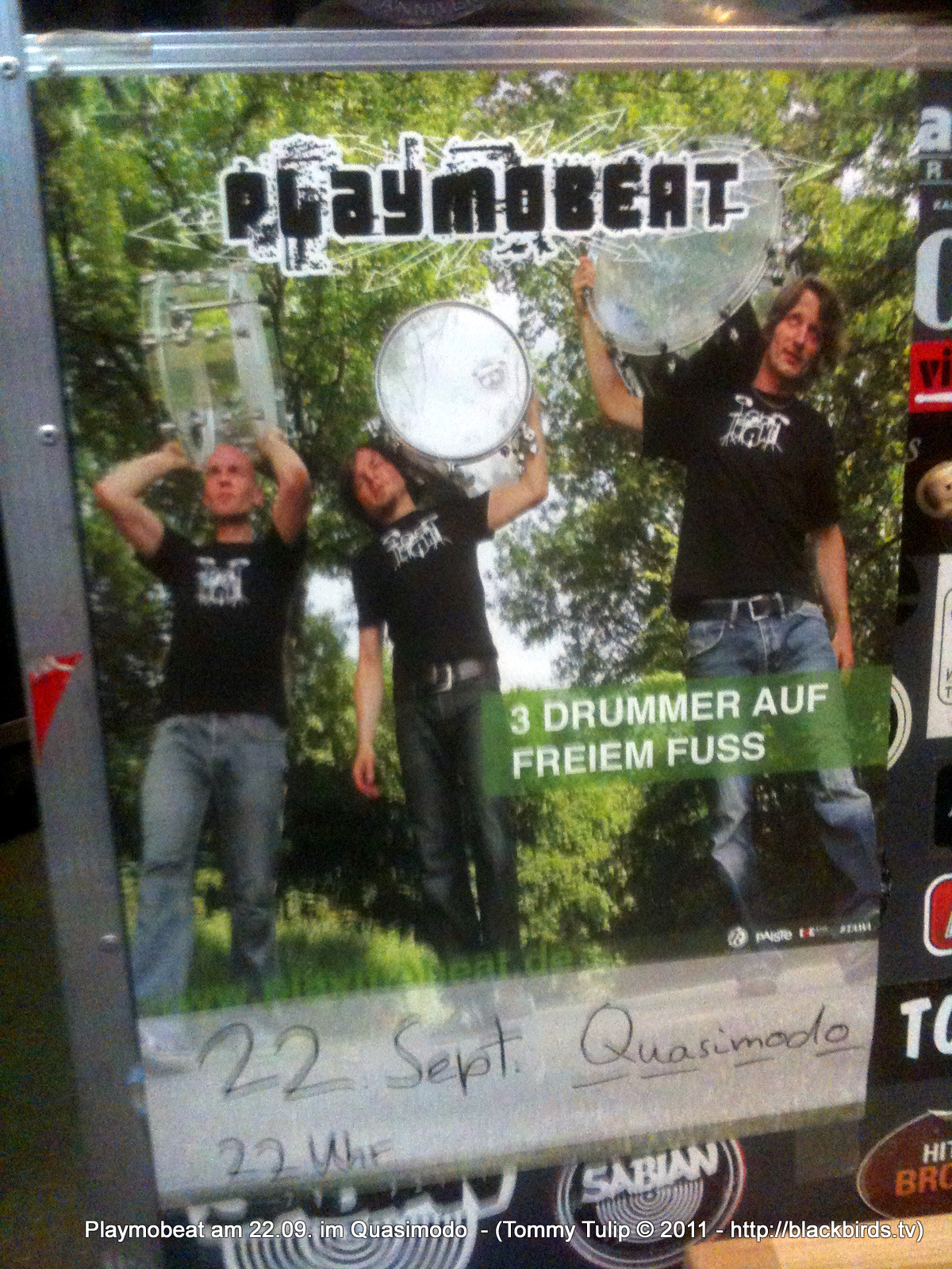 Playmobeat am 22.09. im Quasimodo