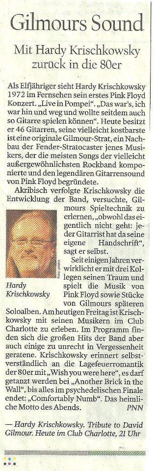 Ausriß PNN - Hardy Krischkowsky