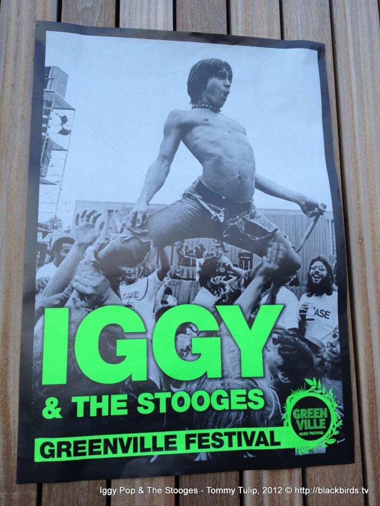 Foto des Tages: IGGY kommt! #Greenvillefestival