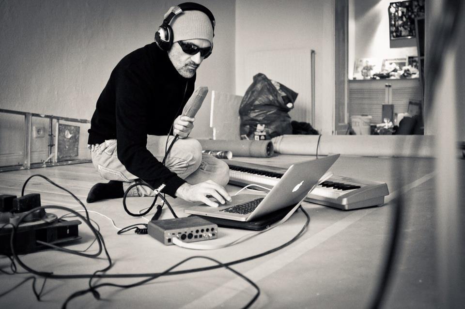 Sascha, The Pascha beim Recording (Quelle: Privatarchiv)