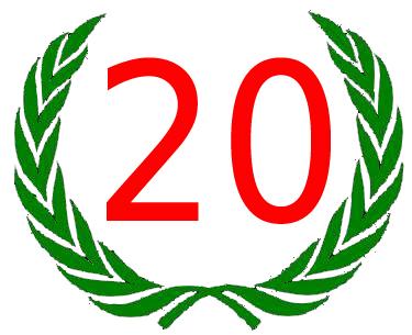 20 Dienstjahre Bandarbeit
