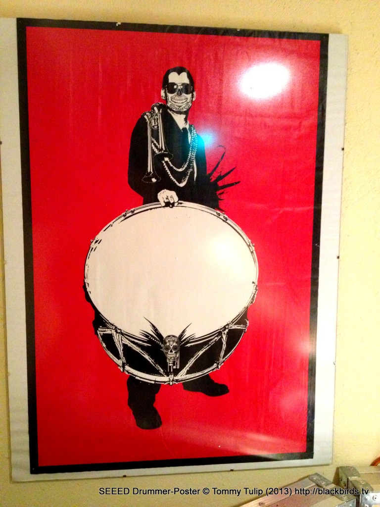 SEEED Drummer-Poster