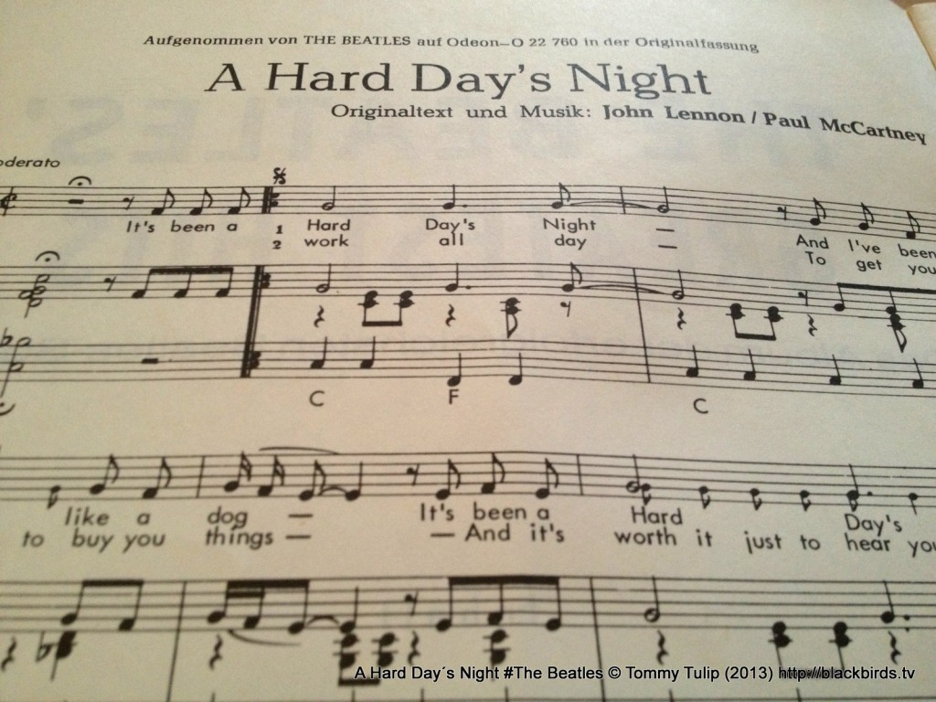 A Hard Day´s Night #The Beatles