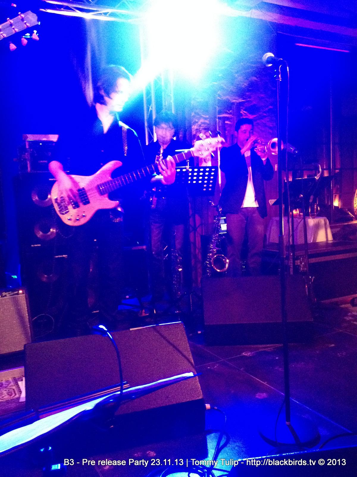 B3 - Pre Release Party 23.11.13 in Berlin-Moabeat