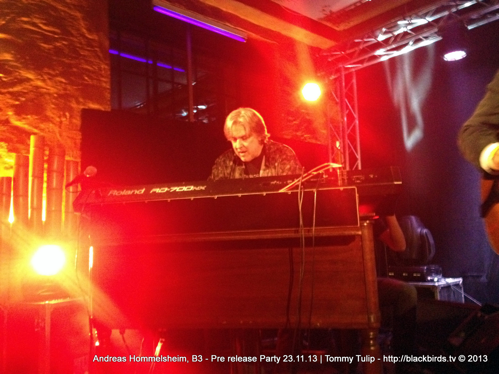 Andreas Hommelsheim, B3 - Pre release Party 23.11.13