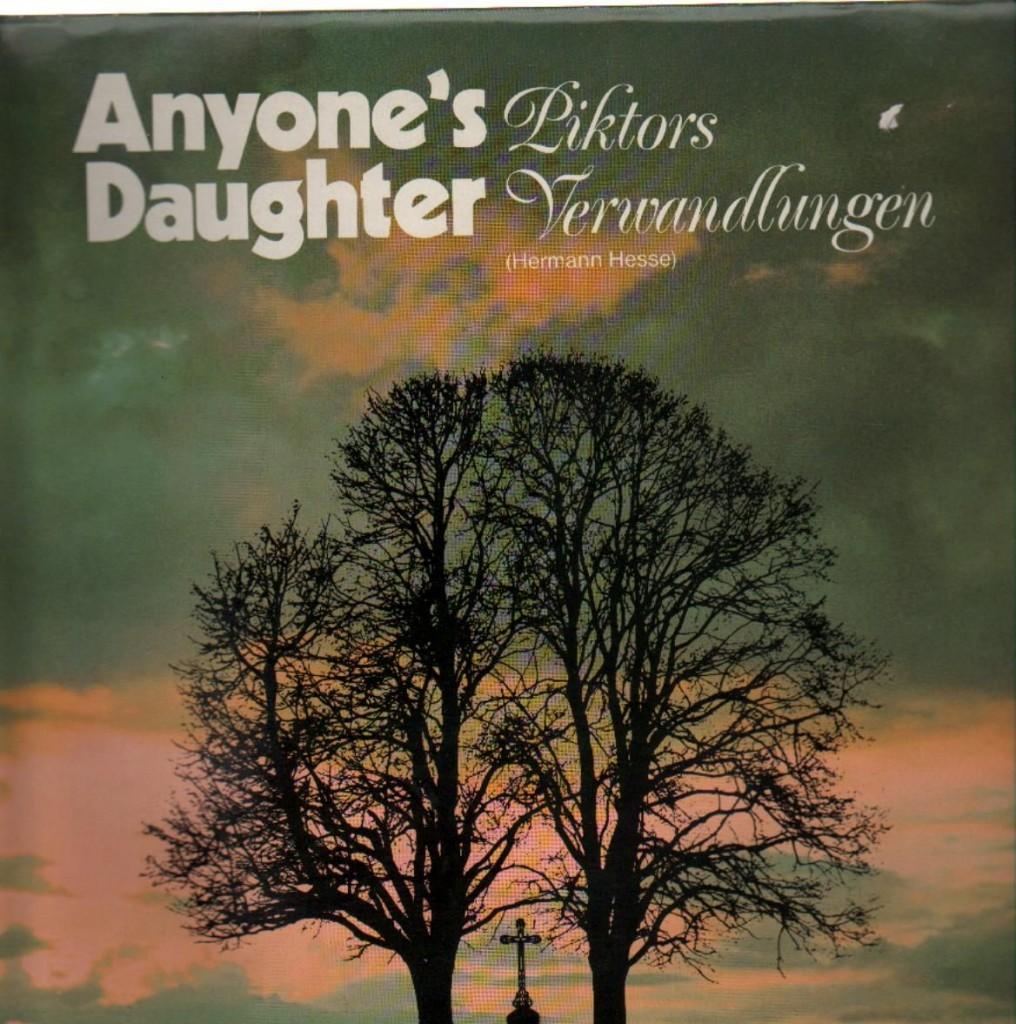 "Originalcover ""Piktors Verwandlungen"" - Anyone´s Daughter"