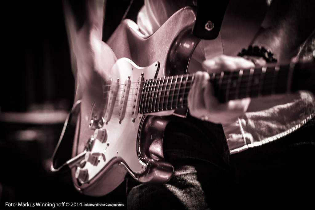 Stratocaster.Gitarre