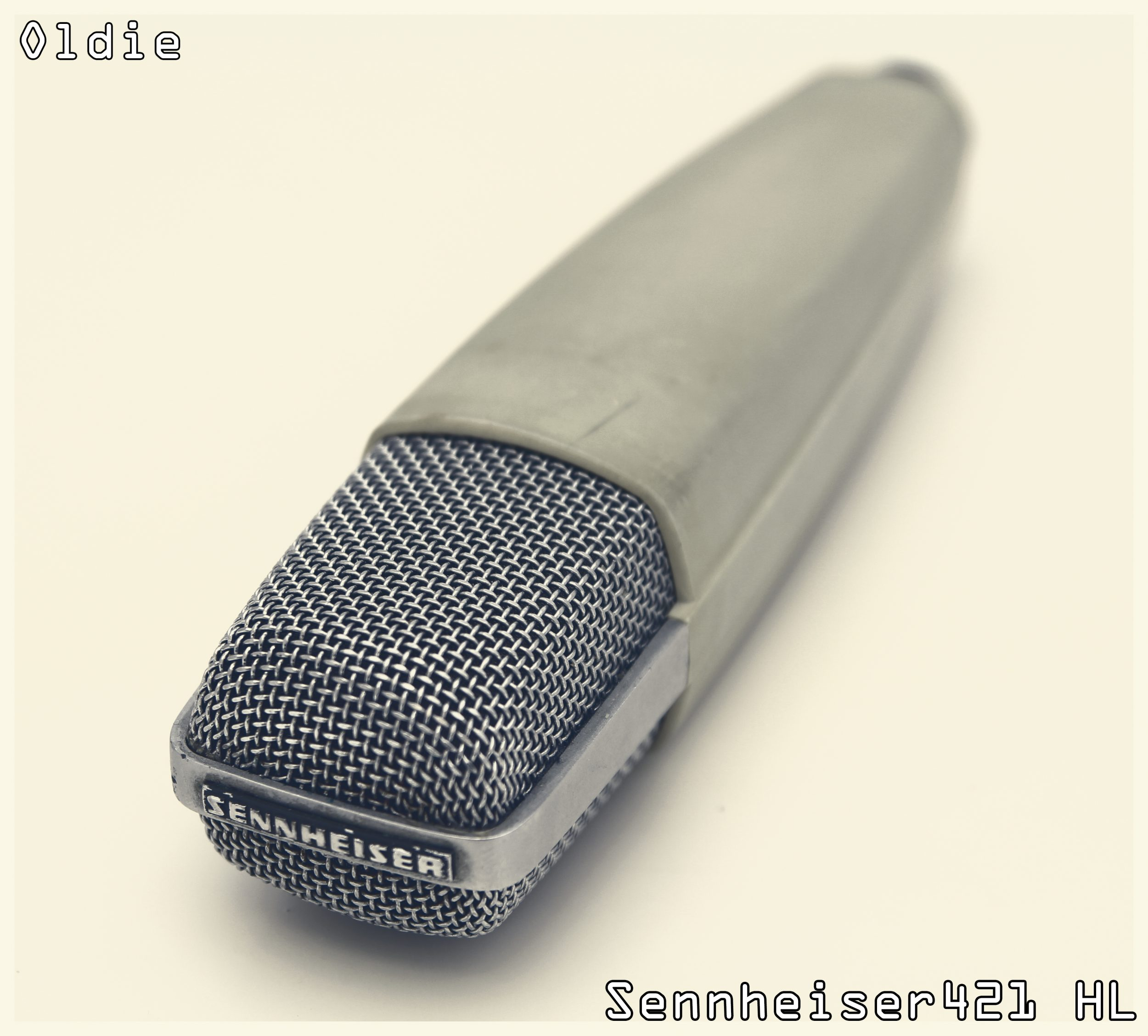Sennheiser 421 HL (Mikrofon) #Oldie but #Goldie