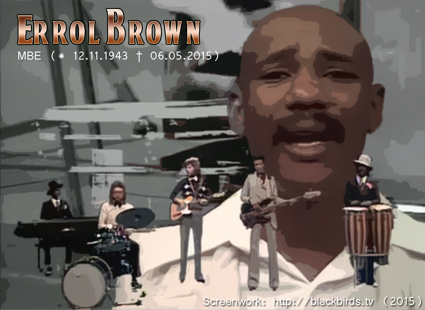 Errol Brown_MBE (* 12.11.1943 † 06.05.2015)