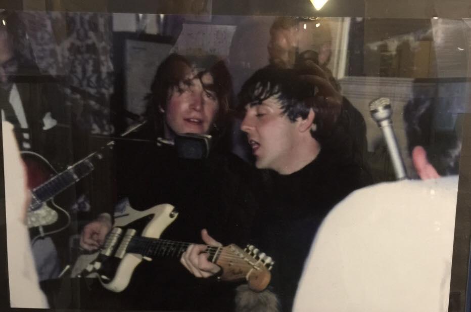 Session in Österreich: John Lennon, Paul McCartney