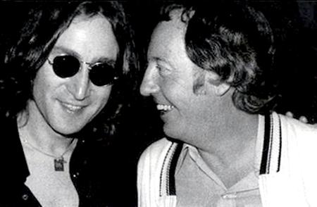 v.l.n.r. John Lennon - Robert Stigwood