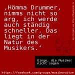 #Ddmns 03 Drummer, das Timing