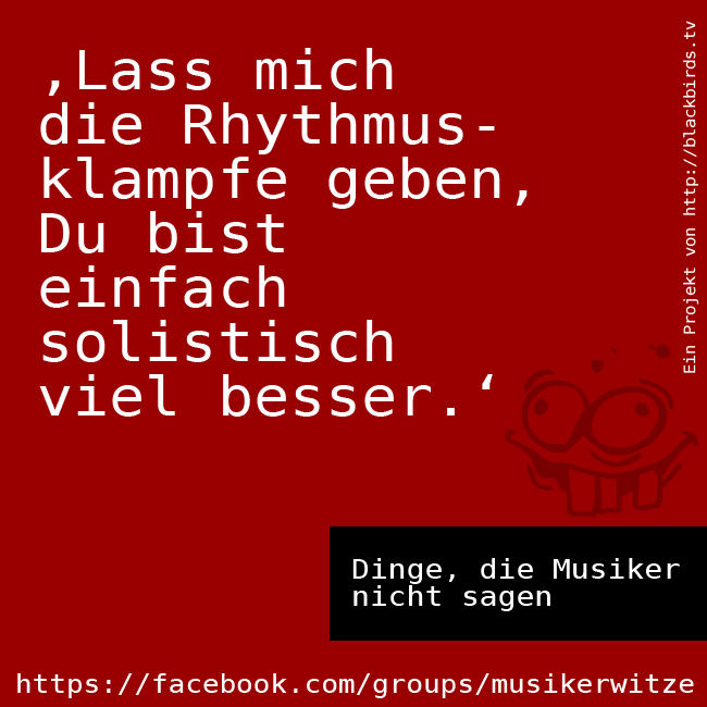#DdMns 05 Ich spiel Rhythmus, Du das Solo!