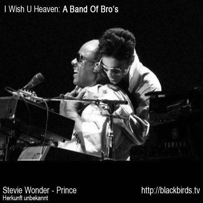 Stevie Wonder Prince: A Band Of Bro's