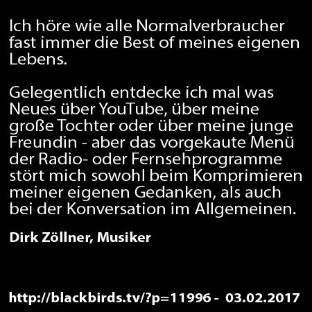 Dirk Zöllner -Die Best of meines eigenen Lebens #Zitate