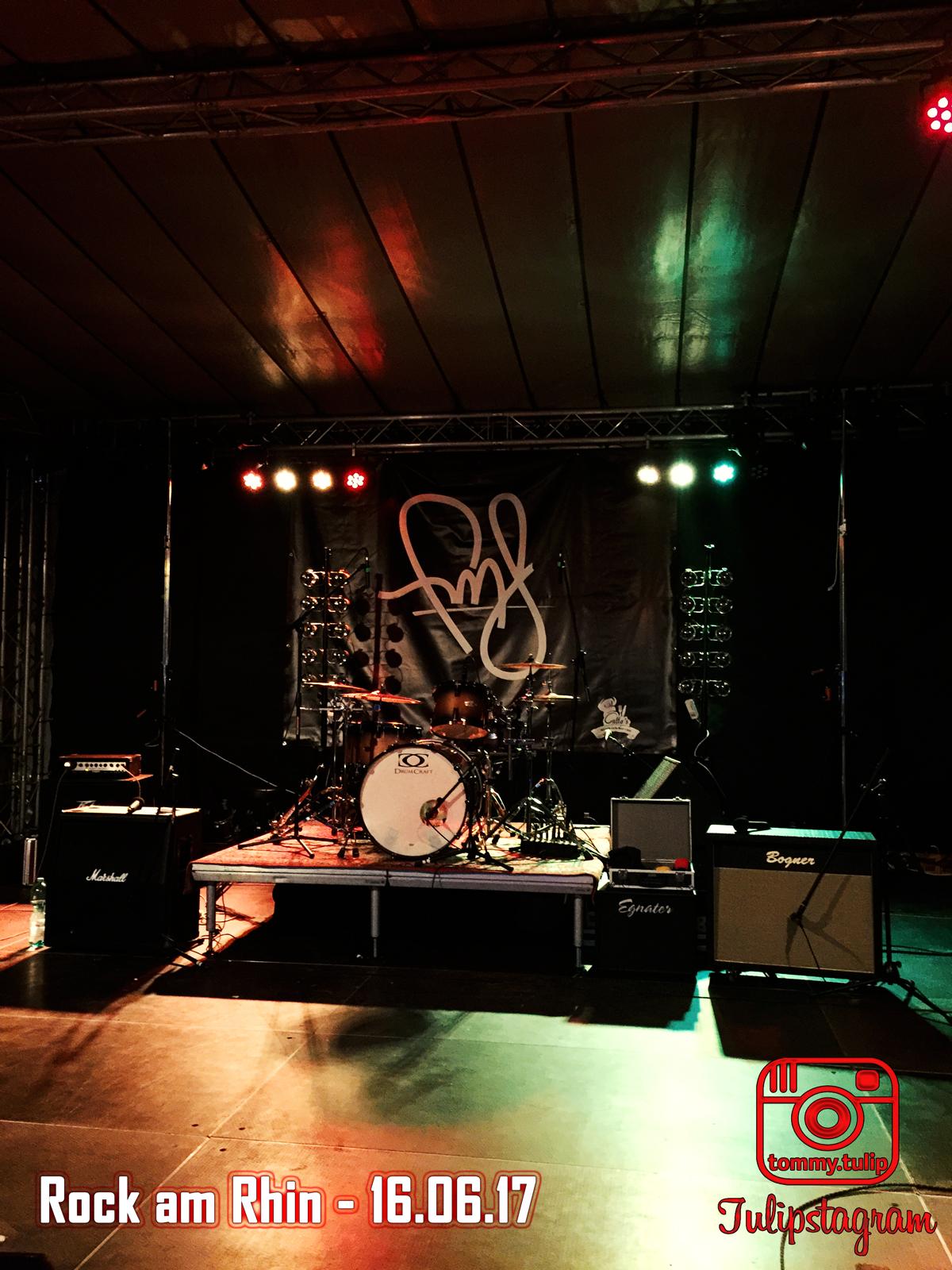 Rock am Rhin Bühnenbild