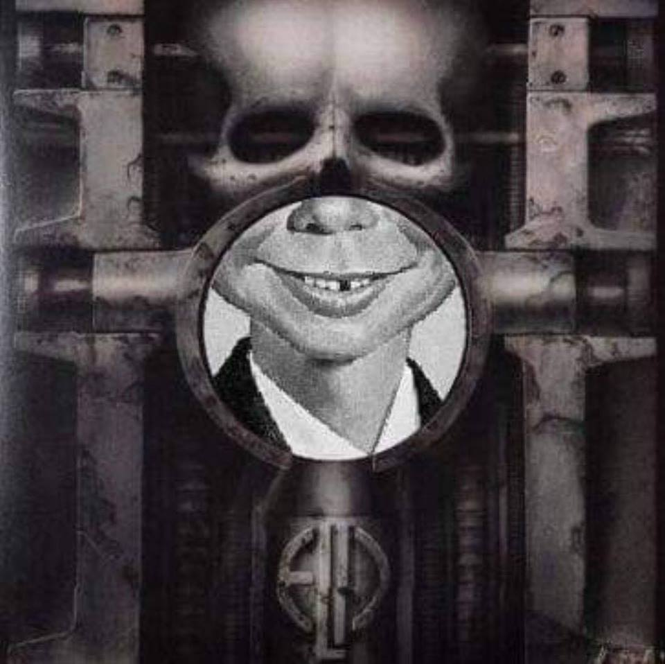 Brain Salad Surgery meshupped with Alfred E. Neumann #ELP #MadMagazin