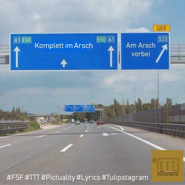 Komplett im Arsch #FSF #TTT #Tulipstagram