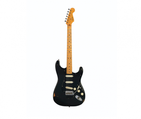The Black Strat (Screenhot, Quelle: Christie's - Link im Artikel)