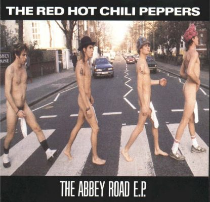The Red Hot Chili Peppers Abbey Road EP (Frontcover)