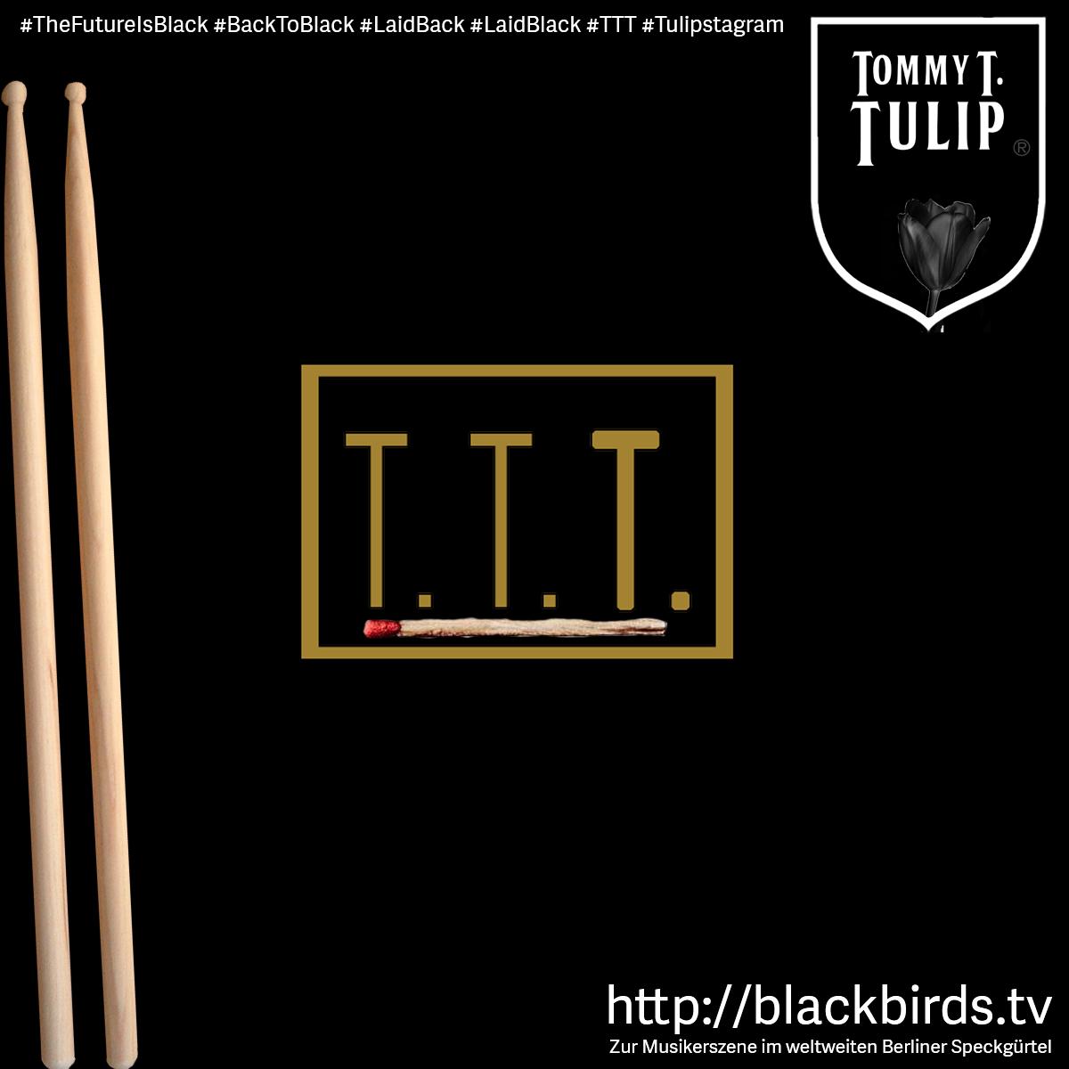 The Future is Black - http://blackbirds.tv - Zur Musikszene im weltweiten Berliner Speckgürtel #TheFutureIsBlack #BackToBlack #LaidBack #LaidBlack #TTT #Tulipstagram