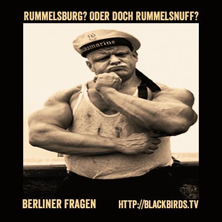 Rummelsburg? Oder doch Rummelsnuff? (Berliner Fragen) #TTT #Tulipstagram https://blackbirds.tv