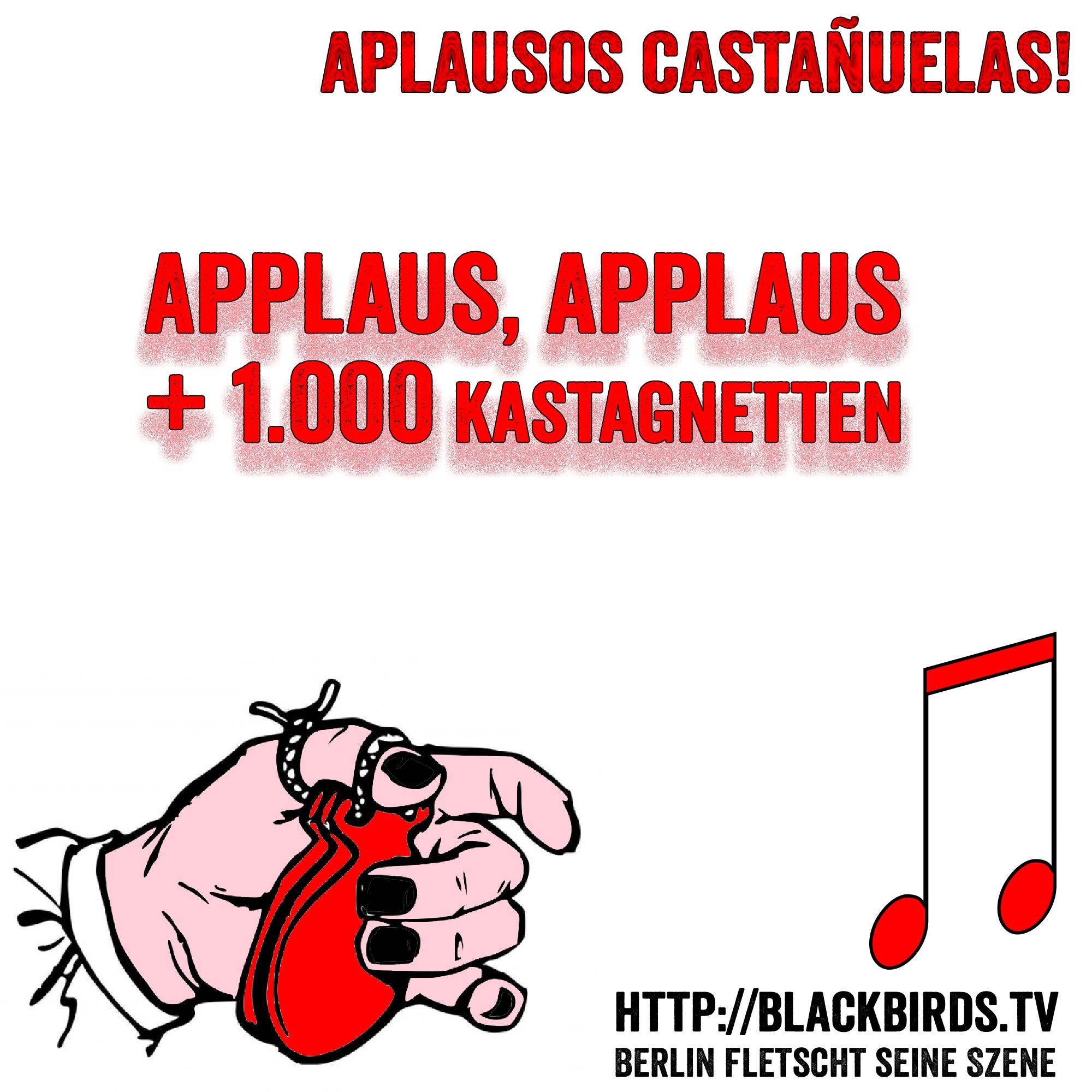 Applaus, Applaus + 1.000 Kastagnetten #Banner #TTT #Tulipstagram